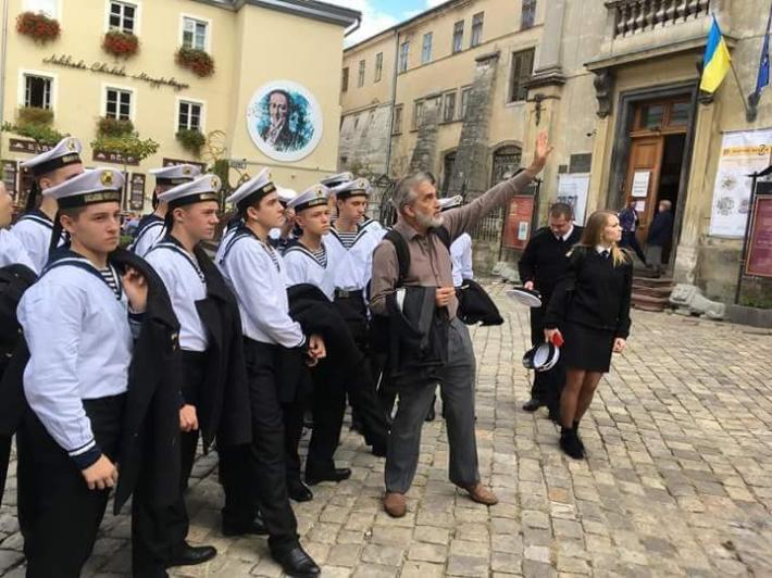 Одеські курсанти познайомилися зі Львовом