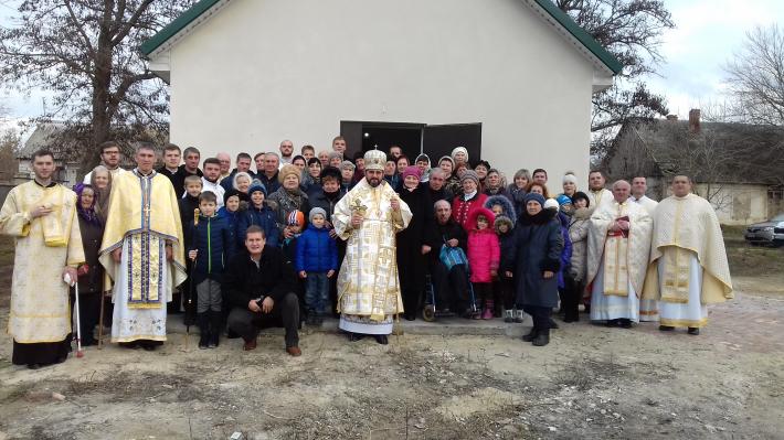 На Херсонщині заснована нова парафія та освячено новий храм УГКЦ