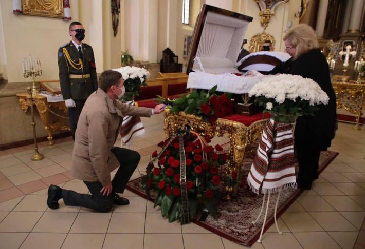 Львів попрощався з Мирославом Скориком