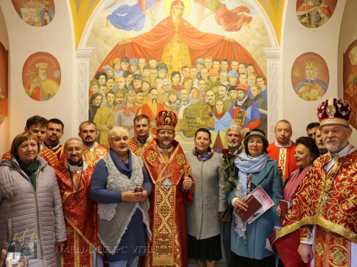 У Києві освятили військову каплицю Воздвиження Чесного Хреста