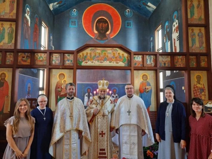 В українській церкві Успіння Пресвятої Богородиці в Люрді відбулися перші ієрейські свячення