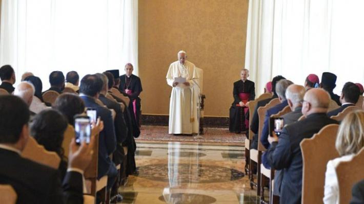 Папа: «Не забуваю про Україну, щоб її населення змогло досягнути мир»