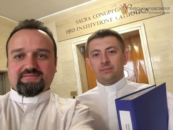 Київська семінарія отримала від Конгрегації католицької освіти афіліацію з УКУ