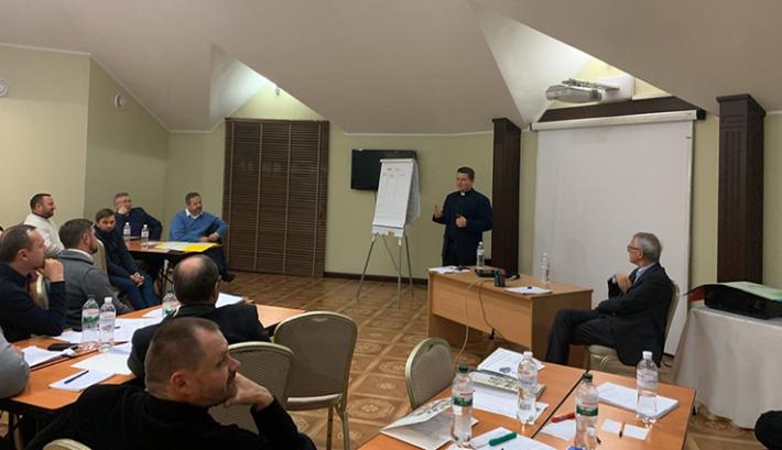 Спільне соціальне служіння - тема зустрічі патріаршого економа з директорами БФ «Карітас»