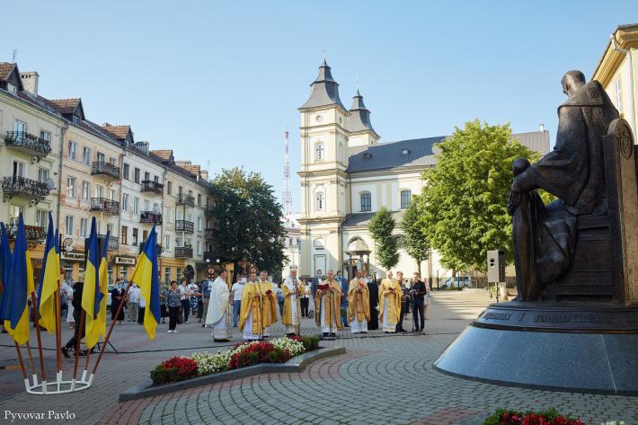В Івано-Франківську спільною молитвою вшанували 155-ліття від дня народження праведного митрополита Андрея