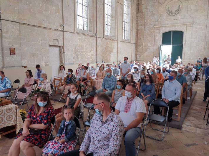 Громада парафії Святих Бориса і Гліба Паризької єпархії відзначила свято своїх покровителів