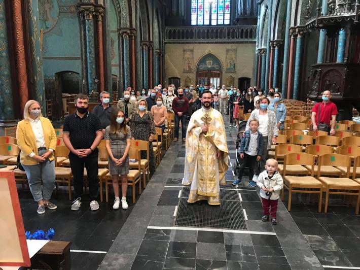 Парафія м. Гент здійснила третю прощу до Люрдської базиліки в Остакер