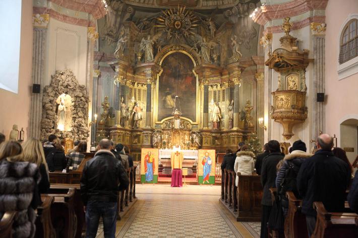 Під час Різдвяних свят в Будапешті перебувала  Зарваницька ікона