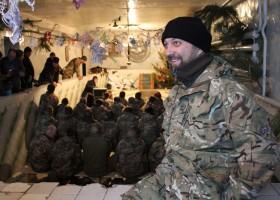 Українські військові подякували капелану за спільне святкування Різдва