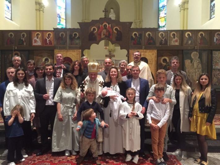 У франкомовній місії в бельгійському місті Турне відбулося перше Хрещення
