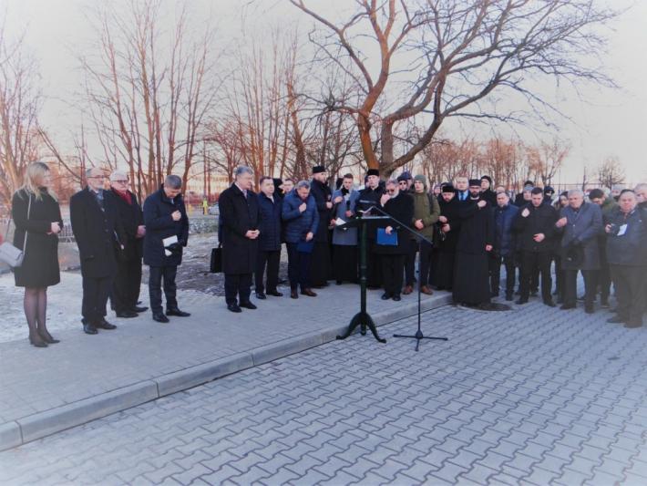 У Любліні освятили місце під пам'ятник блаженному священномученику Омелянові Ковчу