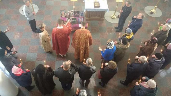 В Ірпені відбулася молитва батьків за загиблими синами в АТО