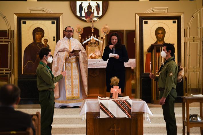 За жертв Голодомору в Україні молилися в Канаді