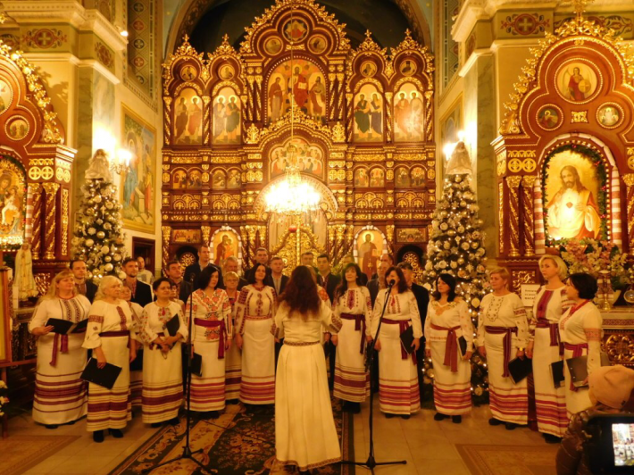 Сьогодні у Стрию завершується перший фестиваль колядок і щедрівок «Різдвяна Стрийщина»