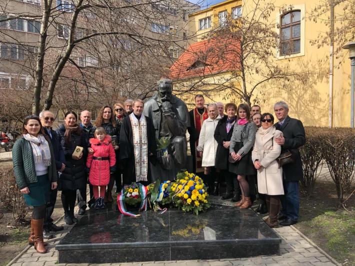 Українці в Будапешті вшанували Тараса Шевченка