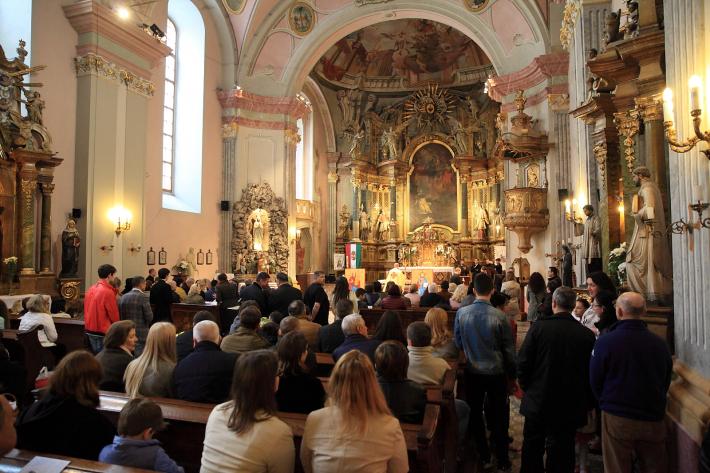 Українці в Угорщині відсвяткували Пасху в Будапешті