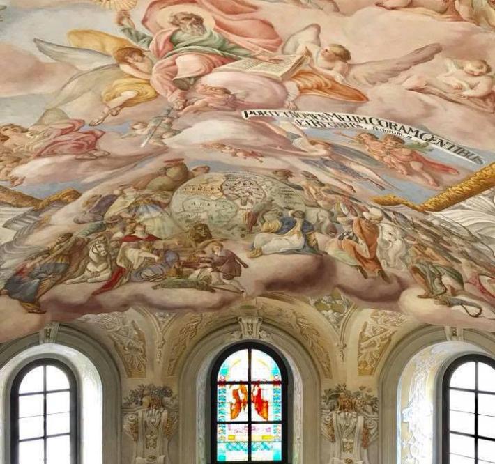 Фрески Франциска Екштайна у львівському Гарнізонному храмі отримають друге життя