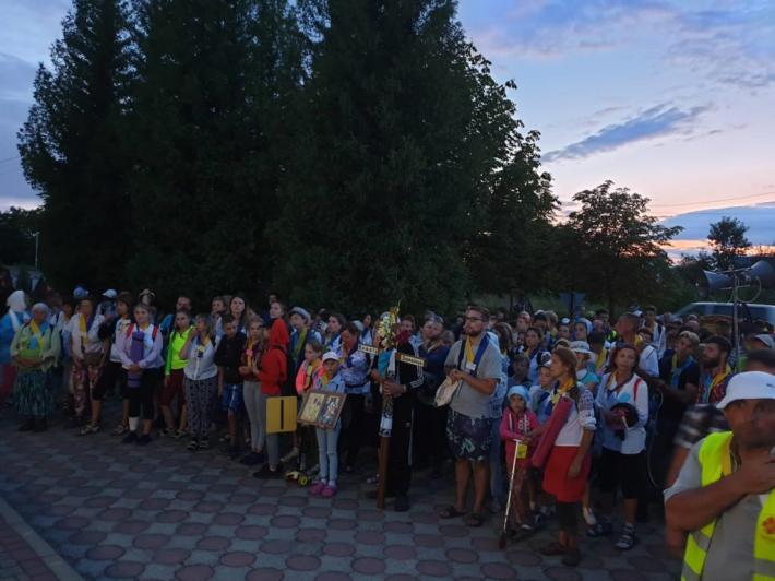У неділю закінчилася XIV Міжнародна піша проща родин мігрантів