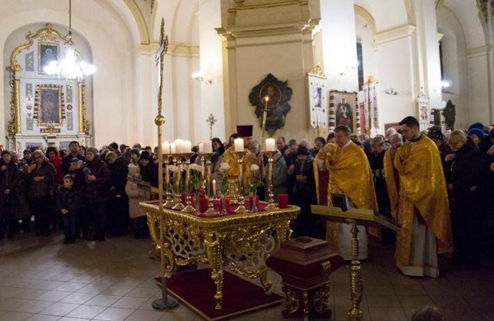 У соборі Святого Юра у Львові триває дев'ятиденне моління до святого апостола Юди Тадея