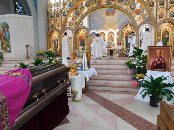 Митрополита Стефана Сулика поховали у крипті катедри Непорочного Зачаття у Філадельфії