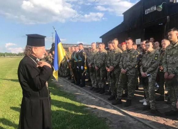 Учасники шістдесят першого Міжнародного військового паломництва до Люрда відвідали концтабір «Майданек»