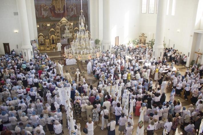 У Новому Роздолі відбувся ХІІ з'їзд спільнот «Матері в молитві» Стрийської єпархії