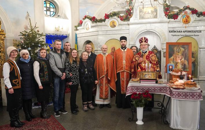 У Києві, на Аскольдовій могилі, відзначили сторіччя з дня народження владики Івана Маргітича