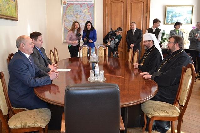 Блаженніший Святослав зустрівся із чиновниками Житомирщини