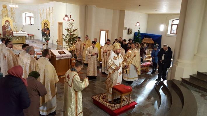 Різдвяна просфора у Харківському екзархаті