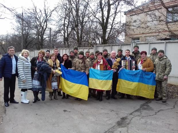 Вертеп храму Званівського василіанського монастиря взяв участь у обласному фестивалі коляди на Донеччині