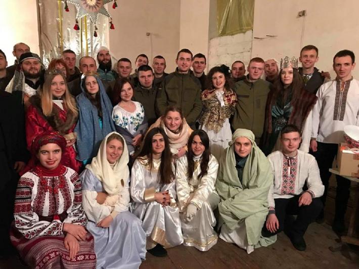 Студентський театр «САД» уже вп'яте святкував Різдво Христове на східних теренах України