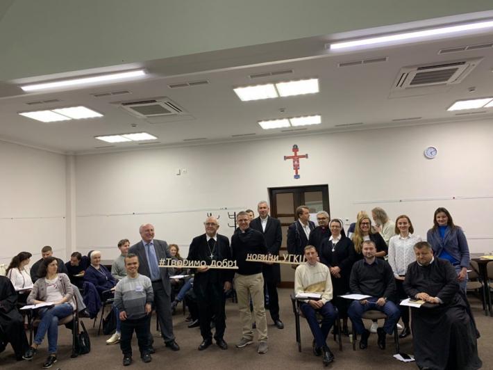 Делегація з єпархії Роттенбург-Штуттгарт відвідала Патріарший дім та ознайомилася з діяльністю Патріаршої курії УГКЦ