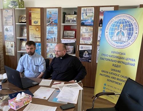 Голова Пасторально-міграційного відділу провів онлайн-зустріч з керівництвом Світового конгресу українців