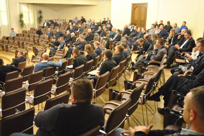 Зустріч Інституту постійної формації духовенства Львівської архиєпархії УГКЦ