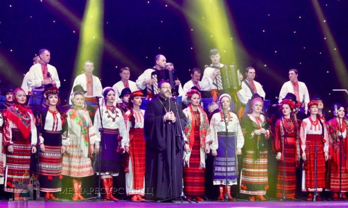 Глава УГКЦ привітав хор Верьовки з 75-річчям