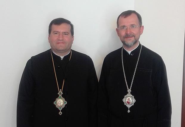 Владика Богдан (Дзюрах) зустрівся з мелхітським греко-католицьким архиєпископом Тріполі