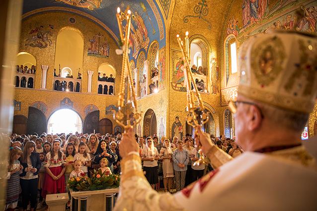 Українські громади Італії здійснили паломництво до собору Святої Софії в Римі