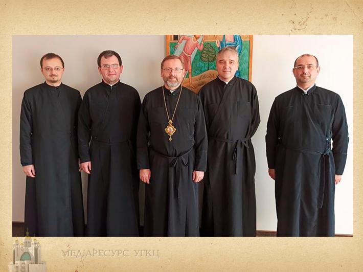 Блаженніший Святослав зустрівся з провінційним настоятелем салезіан УГКЦ