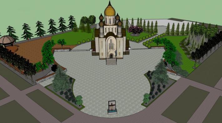 Громада Южного просить про допомогу для завершення будови храму
