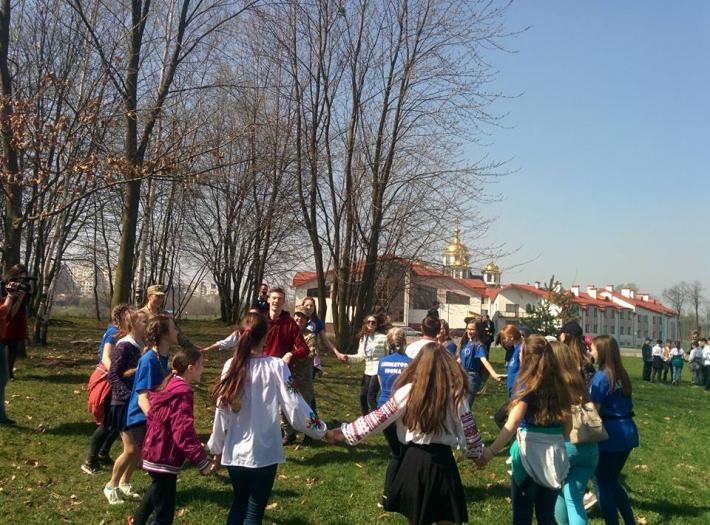 Львівський центр опіки сиріт провів щорічний великодній фестиваль