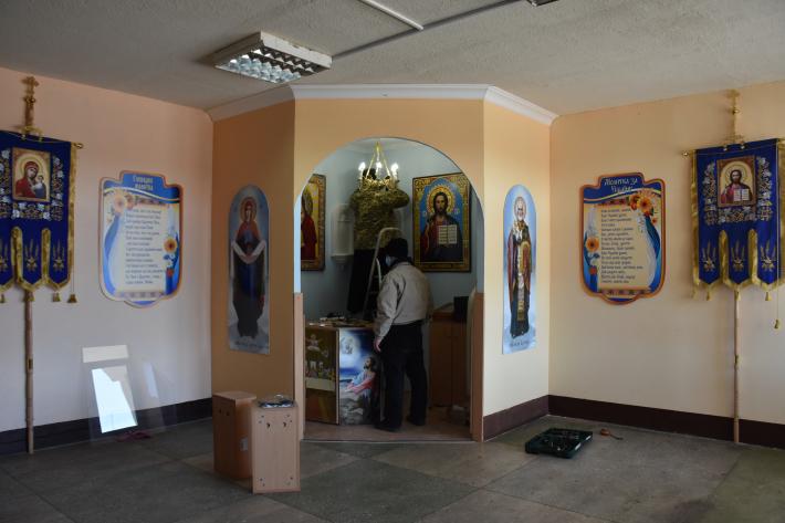 У військовій частині на Одещині готують до освячення центр духовної опіки для військовослужбовців (каплицю)