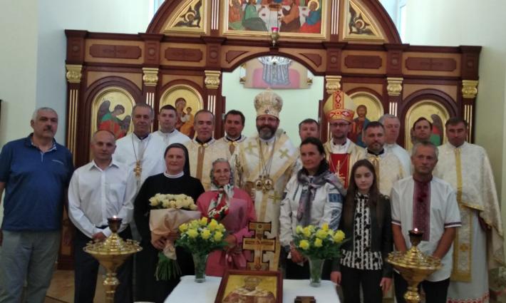 У Львові Блаженніший Святослав привітав с. Наталію Мельник з ювілеєм