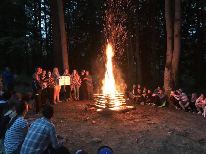 Діти учасників АТО побували у творчому християнському таборі