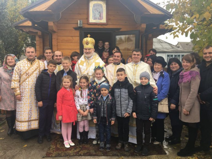 Єпископ Йосиф (Мілян) на Київщині освятив новий храм УГКЦ