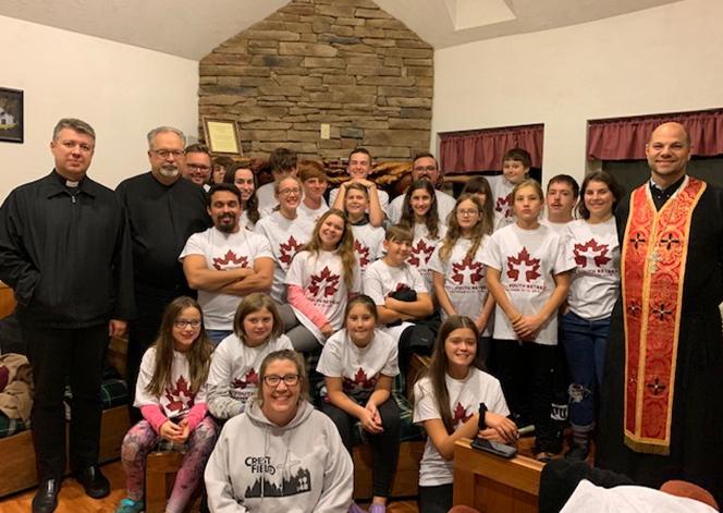 В єпархії Святого Йосафата в Пармі (США) відбулися щорічні Осінні реколекції для молоді