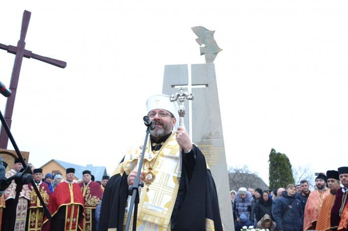 «Уперше в історії ми освятили меморіальний знак на честь жертв, які постраждали внаслідок Львівського псевдособору 1946 року», - Глава УГКЦ