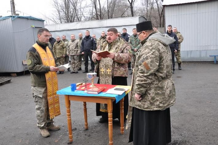 Капелани Тернопільсько-Зборівської архиєпархії проводять духовну місію для військових на Сході України