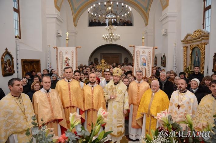 Закарпатська провінція отців василіан Святого Миколая відзначила пам'ять свого небесного покровителя