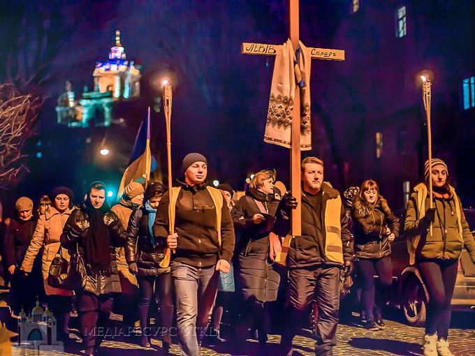 Понад 170 прочан взяли участь у нічній прощі зі Львова до Страдча