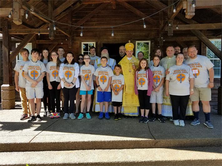 В єпархії Святого Йосафата в Пармі (США) відбулися Єпархіальні молодіжні дні